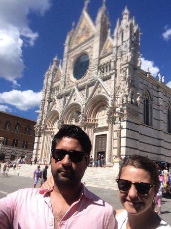Cathédrale Notre-Dame-de-l'Assomption de Sienne : Selfie