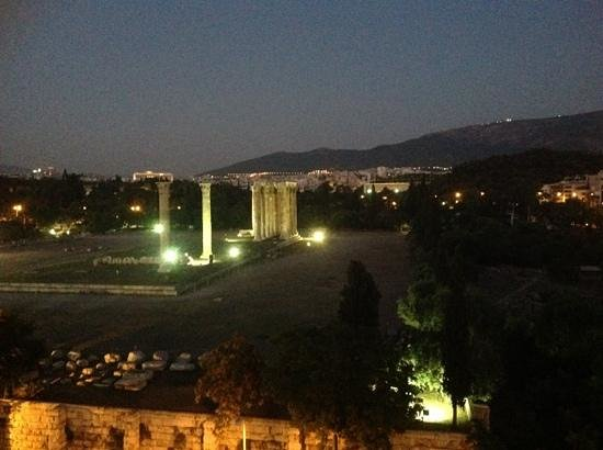 The Athens Gate Hotel: fabulous view from my balcony.