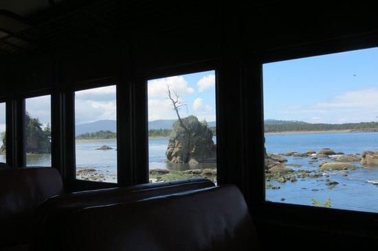 Oregon Coast Scenic Railroad: View from the train