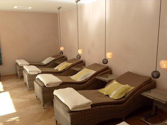 Hotel Villa Hugel : salle de repos