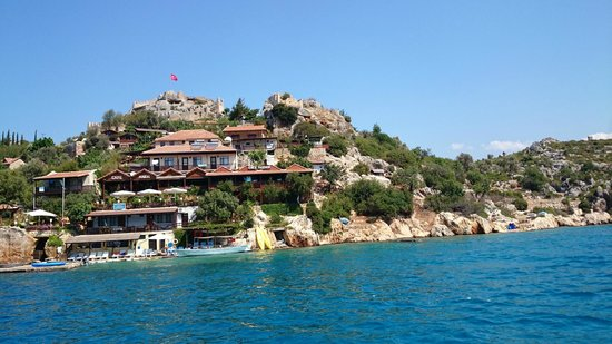 Island of Kekova : View from the boat