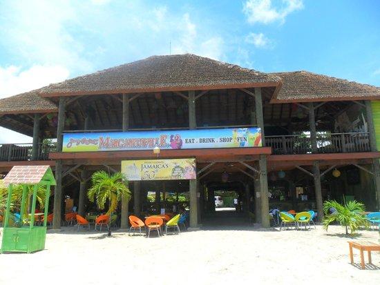 Jimmy Buffett's Margaritaville: Vue de la plage