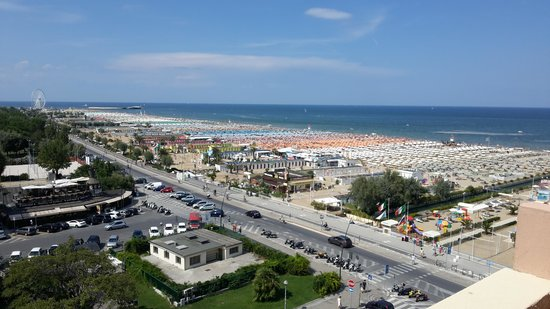 Bellevue Hotel: Panorama dalla Camera 505