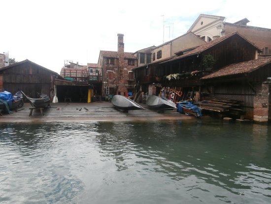 Grand Canal: Squero di San Trovaso