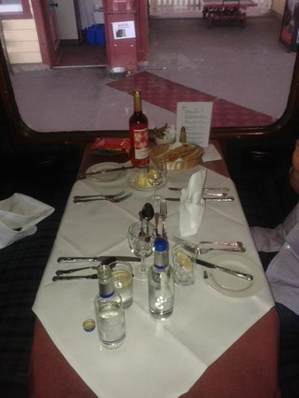 Strathspey Railway: First Class booth on Strathspey Steam Railway