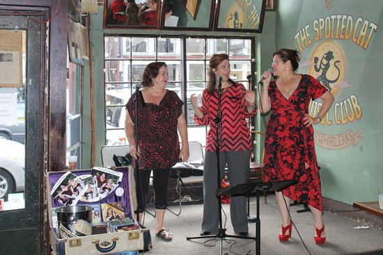 The Spotted Cat Music Club : New version of 'The Andrew Sisters'