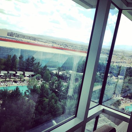 ARIA Resort & Casino: The view from my room.