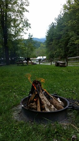 Camp LeConte Luxury Outdoor Resort : PTL view at Camp Laconte!