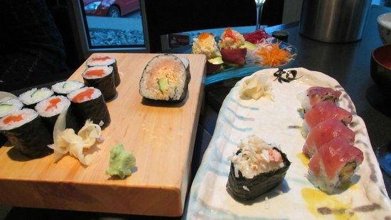 Nagomi Sushi : Plat japonais