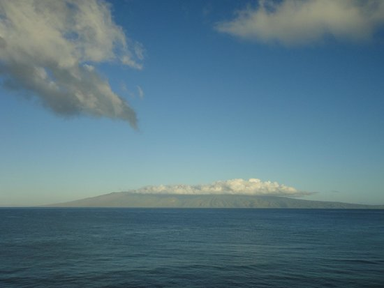 Maui Kai: view from lanai - Molakai