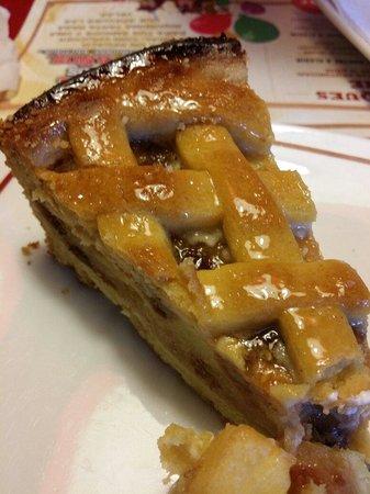 Buffalo grill Zaragoza: Tarta de manzana tipo pudding