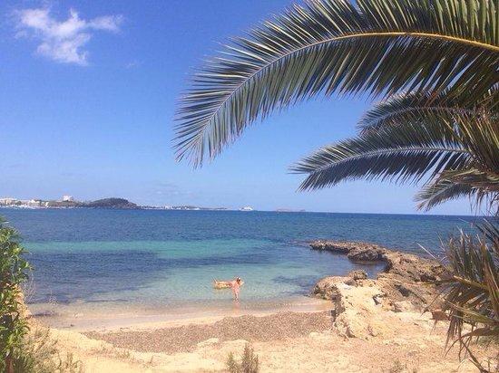 Lovely little private beach santa eulalia