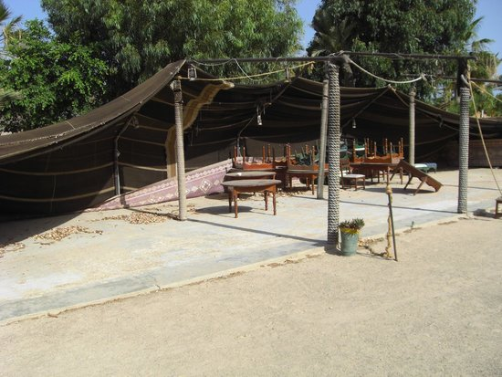 Winzrik Resort & Thalasso Djerba : pauvre tente touareg