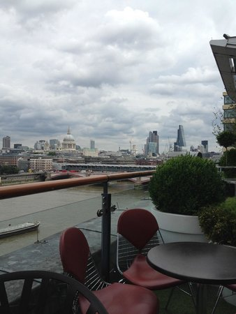 Oxo Tower Restaurant, Bar and Brasserie: View from our table