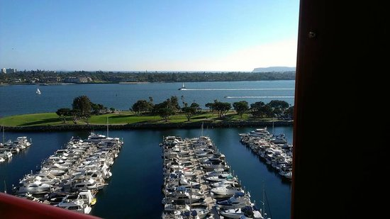 Marriott Marquis San Diego Marina : Room 1200 View