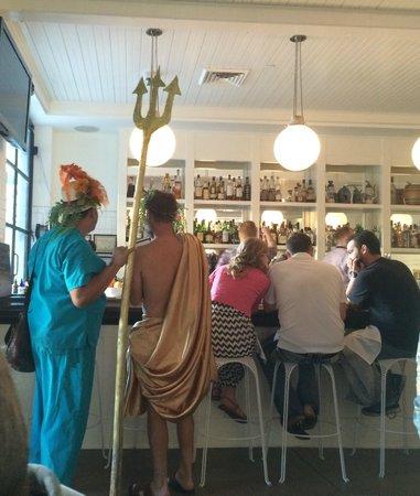 Agustin Kitchen: In the bar...