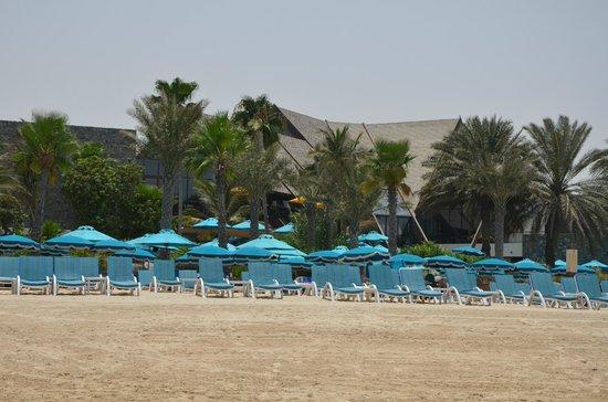 JA Jebel Ali Beach Hotel : Beach from the Sea