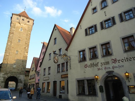 Gasthof Zum Breiterle: Отель внутри городской стены