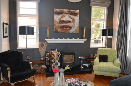 Derwent House Boutique Hotel : Lounging area