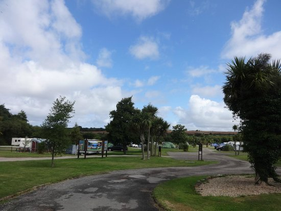 Perran Springs Holiday Park: View from the entrance