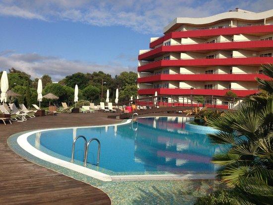 Outdoor Swimming Pool Picture Of Solplay Hotel De Apartamentos Linda A Velha Tripadvisor