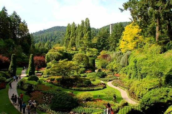 Butchart Gardens: Sunken Garden