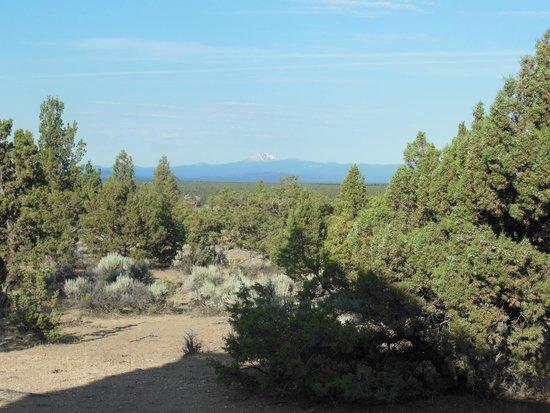 Brasada Ranch: Vue du séjour de la cabine