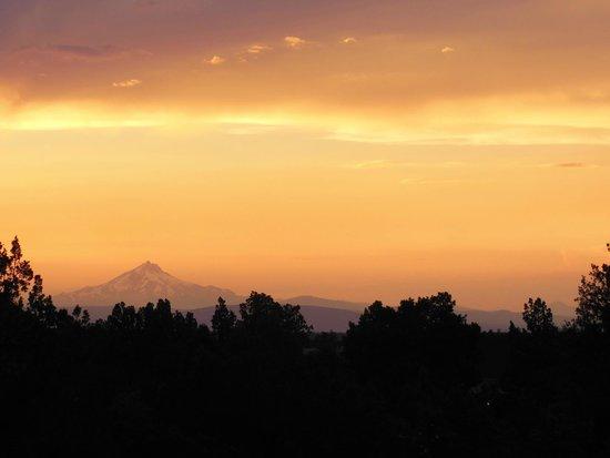 Brasada Ranch: Coucher de soleil vu de la chambre