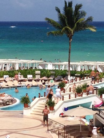 The Royal Playa del Carmen: view from balcony of suite 351