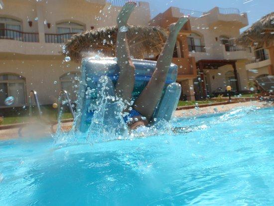 Sheikh Ali Dahab Resort: Great pool