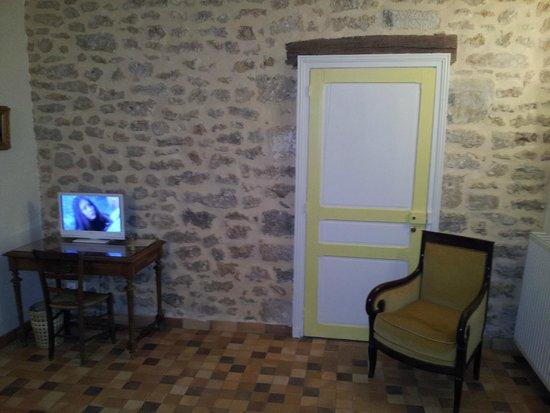 Le Vieux Chateau - chambres et table d'hotes : Chambre