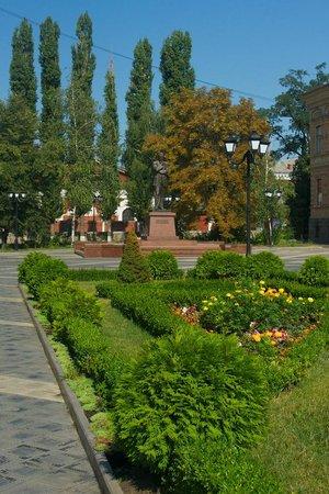 Volodymyr Vynnychenko Statue