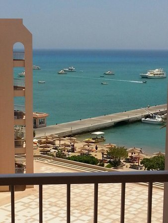 Hurghada Marriott Beach Resort : View from our room
