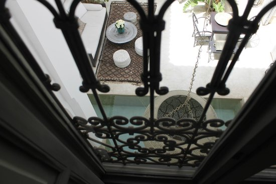 Riad Snan13: Cortile Marrakchi - vista suite