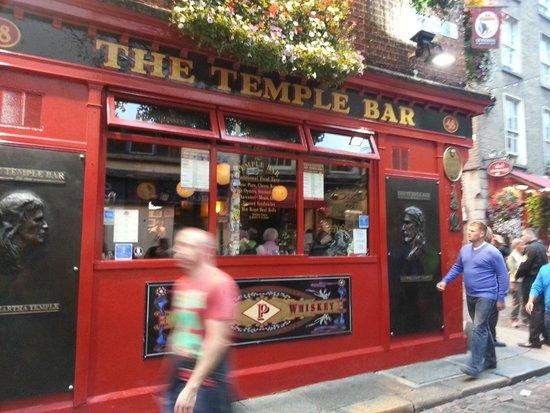 The Temple Bar Pub: Detalle de la fachada