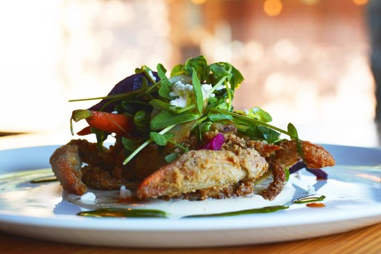 The Blue Goat: Soft Shell Crab