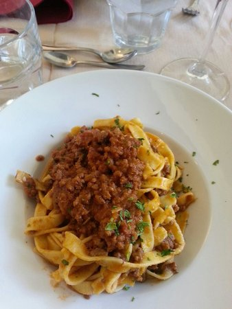 My Tour Tuscany Experts: Tagliatelle with beef ragu