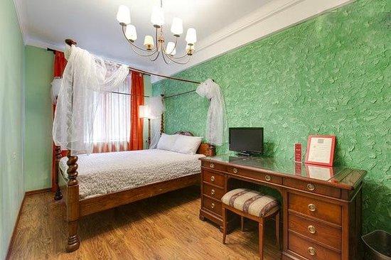Artist Hostel on Chistye Prudy: Номер Стандарт с 1 большой кроватью. в Артист хостел на Чистых прудах