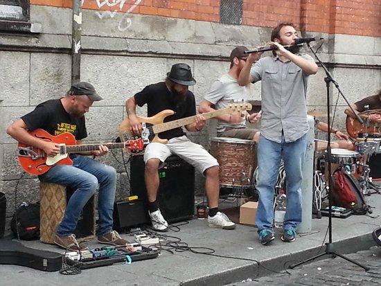 Temple Bar: Música en la calle