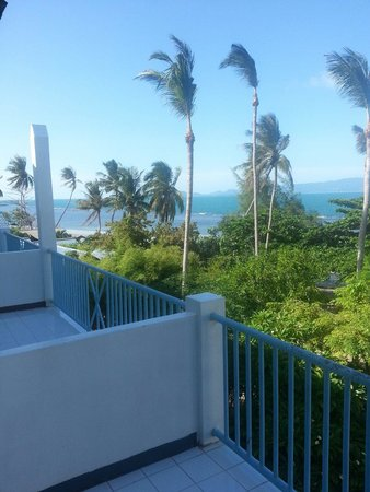 Thaniza Beachfront Resort : Vista balcone