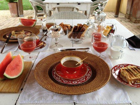 Podere Gattabigia: Fantastic Breakfast