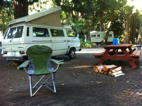 Cedar Grove RV Park & Campground: Our site