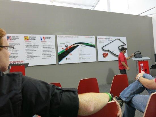 Exotics Racing: briefing