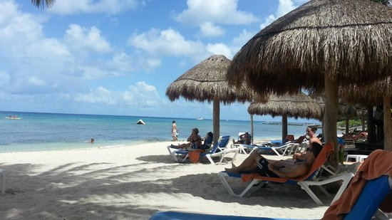 Sunscape Sabor Cozumel: View from the patio outside the Villa