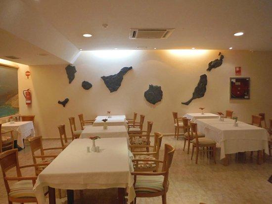 SBH Crystal Beach Hotel & Suites: Frühstücks,- Mittags,- Abendessenraum