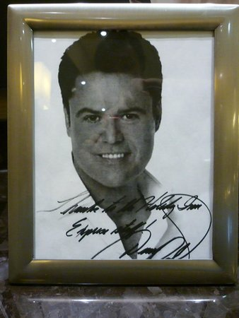 Holiday Inn Express Hotel & Suites Woodstock: Donny Osmond
