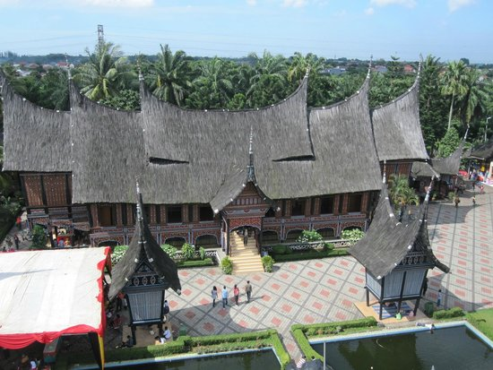 Beautiful Indonesia in Miniature Park: View from the cable car