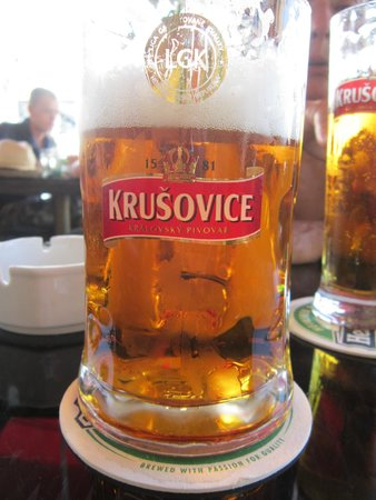 U Cisaru : Erfrischendes Bier