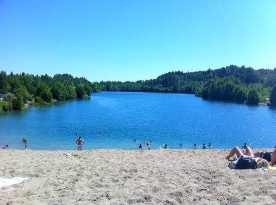 Ekero, Sweden: sandy hill
