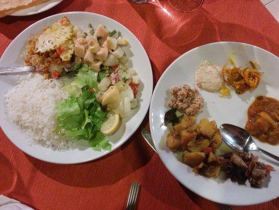 Tarisa Resort & Spa: The marvelous & exotic continental food...Great Indigo